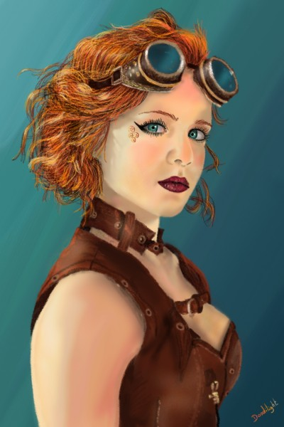 Steampunk style | Doodilight | Digital Drawing | PENUP