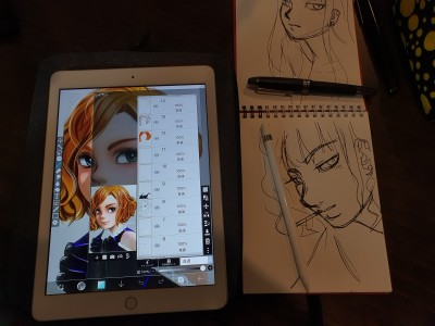 my drawing style (^_^))) | tosi73 | Digital Drawing | PENUP
