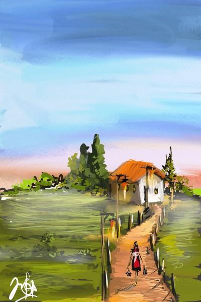 m caminho | edsilva | Digital Drawing | PENUP
