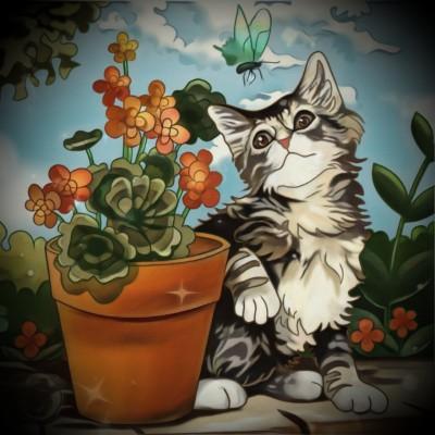 Pretty kitty  | Chris | Digital Drawing | PENUP