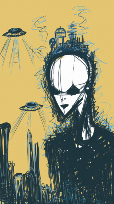 aliens   w3tza   Digital Drawing   PENUP