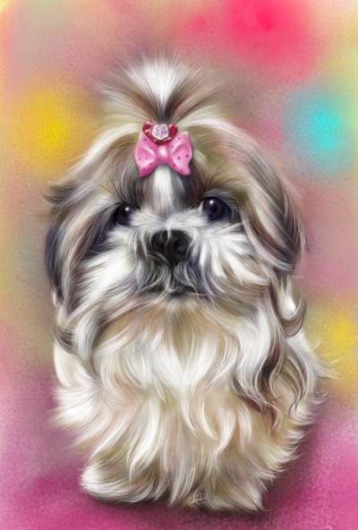 pretty dog ~^^ | akira | Digital Drawing | PENUP