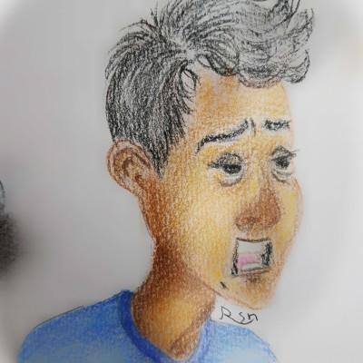 Portrait Digital Drawing   Sh_Fd72   PENUP