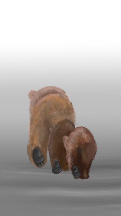 Bear Family  | CAREUS | Digital Drawing | PENUP