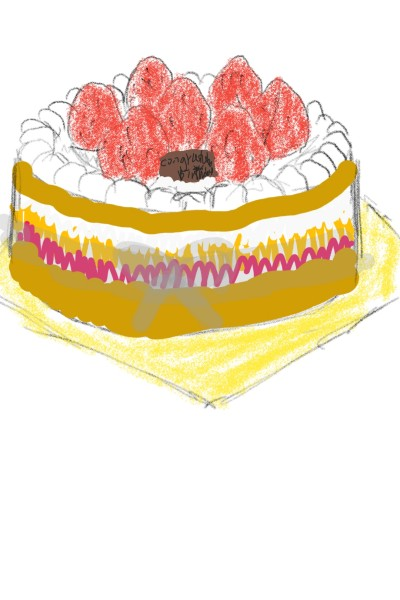 Birthday cake (happy birthday) ^^ | Shawn | Digital Drawing | PENUP