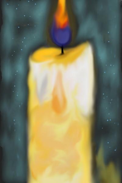 Candle  | Moonsta | Digital Drawing | PENUP