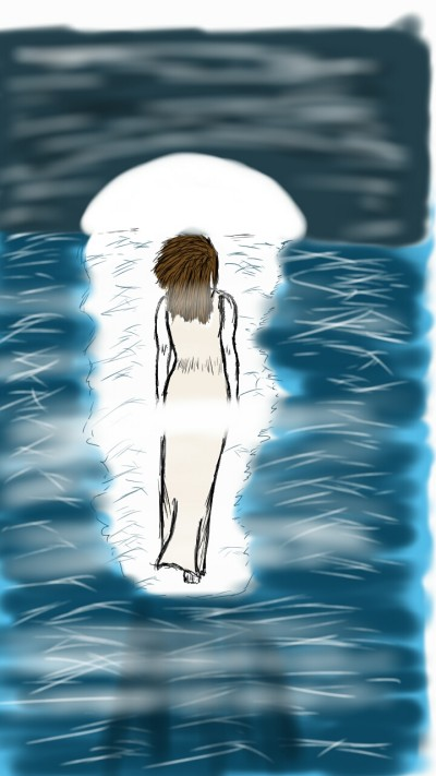 Lady of the sea | SoloSketch | Digital Drawing | PENUP