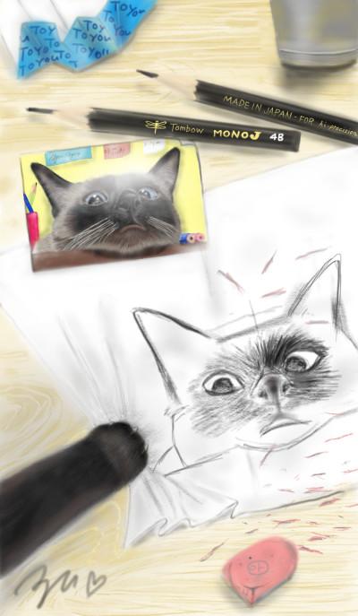 my life❤猫とコーヒとチョコレート   azu   Digital Drawing   PENUP