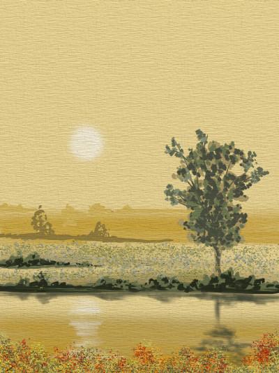 River bank | AntoineKhanji | Digital Drawing | PENUP
