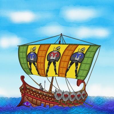 해적선 | sera | Digital Drawing | PENUP