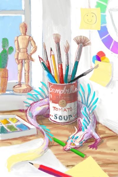 Pendragon please share =) | Miss.Saario | Digital Drawing | PENUP