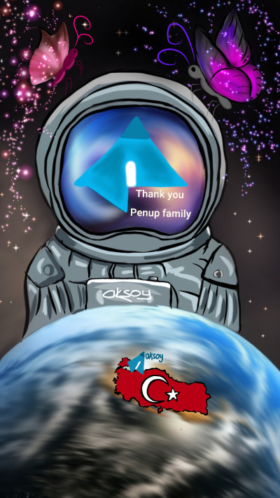 THANK YOU PENUP FAMILY | aksoy | Digital Drawing | PENUP