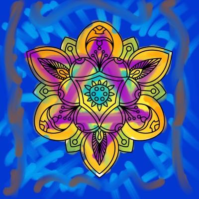 estrella de david | santiagojhg | Digital Drawing | PENUP