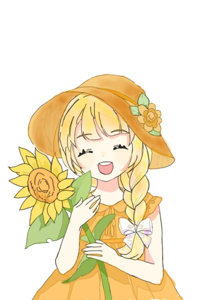 yellow girl   lynh   Digital Drawing   PENUP