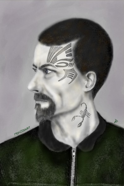 Salford Punk  | MonSouhait | Digital Drawing | PENUP