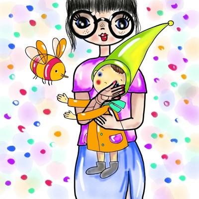 A girl | SummerKaz | Digital Drawing | PENUP