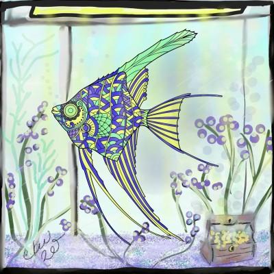 my fish tank | Daisy-C.K.W. | Digital Drawing | PENUP