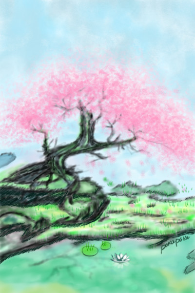 Flutter | pokapoka | Digital Drawing | PENUP
