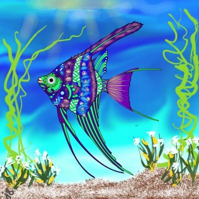 Tropical Fish | Jules | Digital Drawing | PENUP