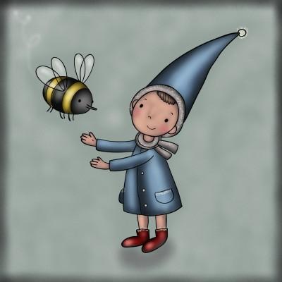 Bee happy | JammyC | Digital Drawing | PENUP