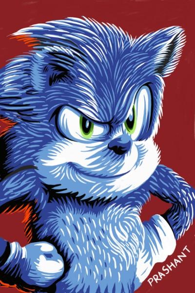 Sonic the Hedgehog!!   Prashant   Digital Drawing   PENUP