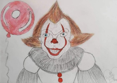 Pennywise  | Emily | Digital Drawing | PENUP