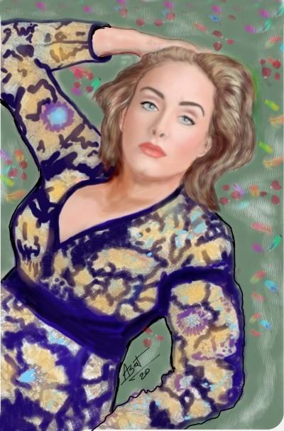 Adele | ASAT | Digital Drawing | PENUP
