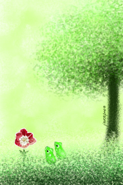 Spring friends | pokapoka | Digital Drawing | PENUP