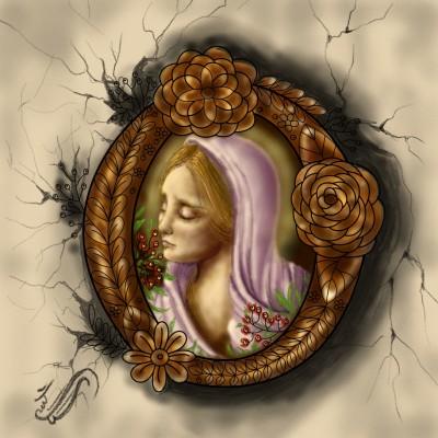 Virgin Mary♡ | sitaArt | Digital Drawing | PENUP