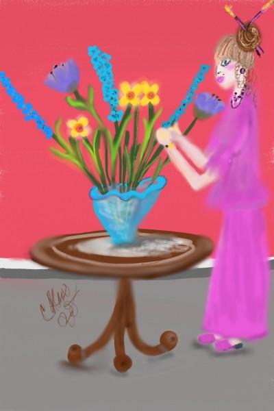 spring flowers  | Daisy-C.K.W. | Digital Drawing | PENUP