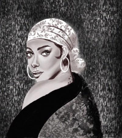 Portrait Digital Drawing | Ria1 | PENUP