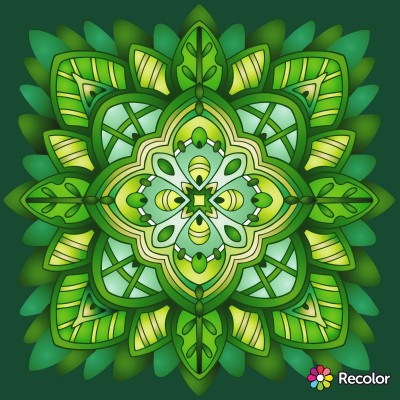 mandala 8 (last of mar 11 mandalas) | Zenovia | Digital Drawing | PENUP