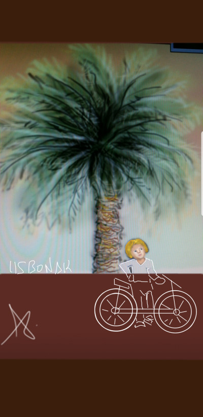 Plant Digital Drawing | 1LISBONAK | PENUP