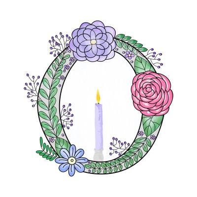 O Wreath | Trish | Digital Drawing | PENUP