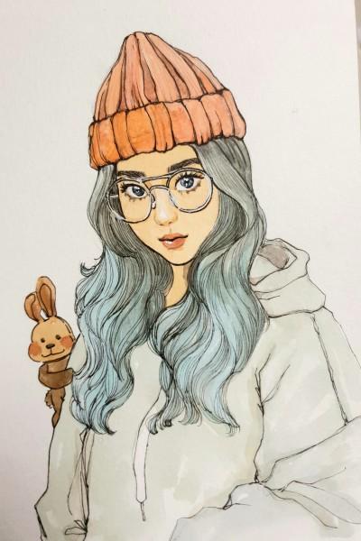 소녀 | Iness_j.y_park | Digital Drawing | PENUP