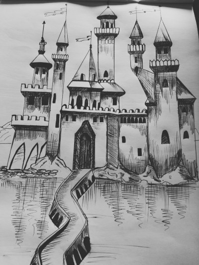 castle | dwitipriya | Digital Drawing | PENUP