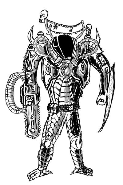 Future Fighter | Templejax303 | Digital Drawing | PENUP