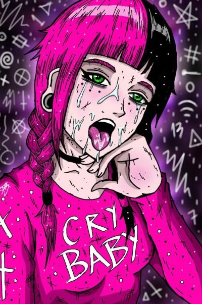 Cry Baby   Kimihiro133sm   Digital Drawing   PENUP