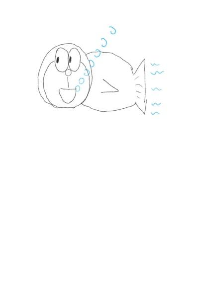 #doraemon fish | skycastle | Digital Drawing | PENUP