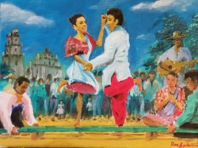 Traditional Filipino Dance | Grafixguru | Digital Drawing | PENUP