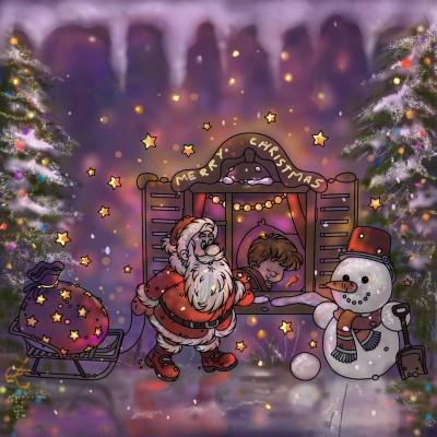 Dear Santa ♡ | aristina.z | Digital Drawing | PENUP