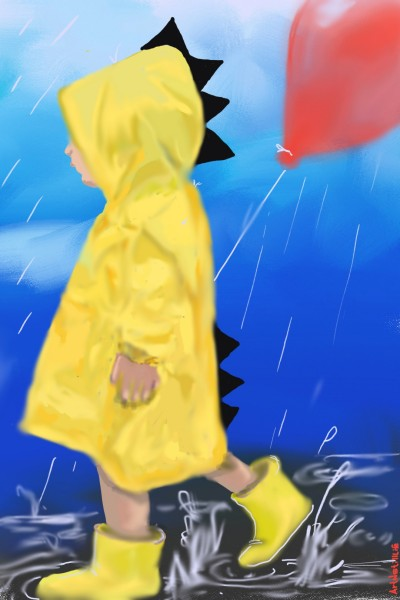 Rain Walker... | ArtNstillLife | Digital Drawing | PENUP