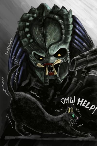 Predator!!! | Prashant | Digital Drawing | PENUP