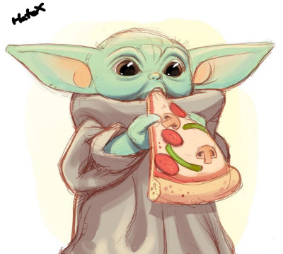 Baby Yoda! | HateX | Digital Drawing | PENUP