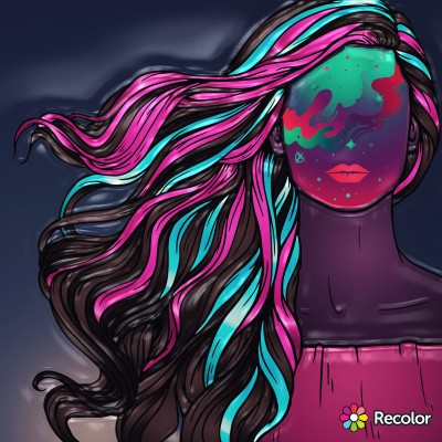 Portrait Digital Drawing | Zenovia | PENUP