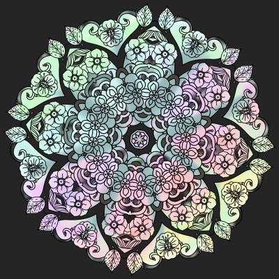Mandala  | vaniaania | Digital Drawing | PENUP