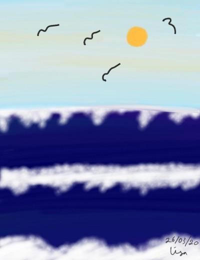 Ocean | lisa2706 | Digital Drawing | PENUP