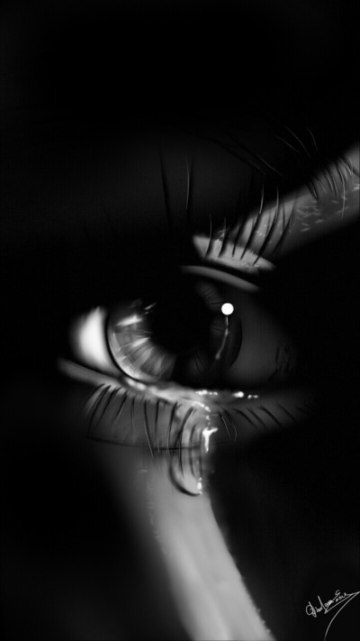 ...and meanwhile a tear falls  | Abex | Digital Drawing | PENUP