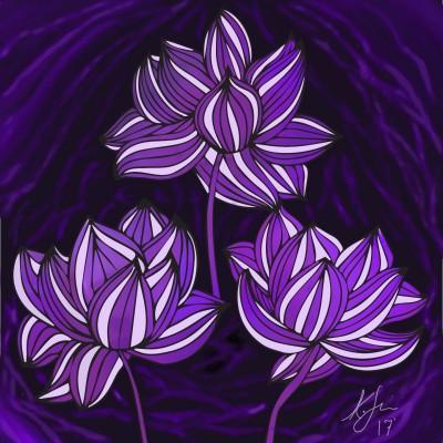 violet | anishonua | Digital Drawing | PENUP