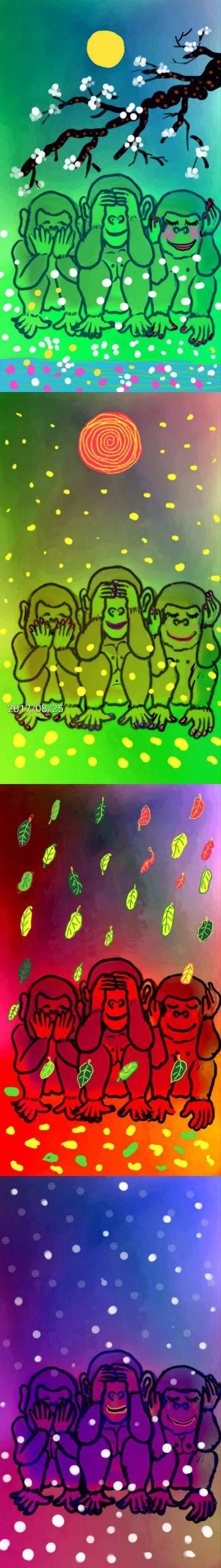 사계    qweensara   Digital Drawing   PENUP